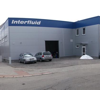 Sídlo firmy Interfluid